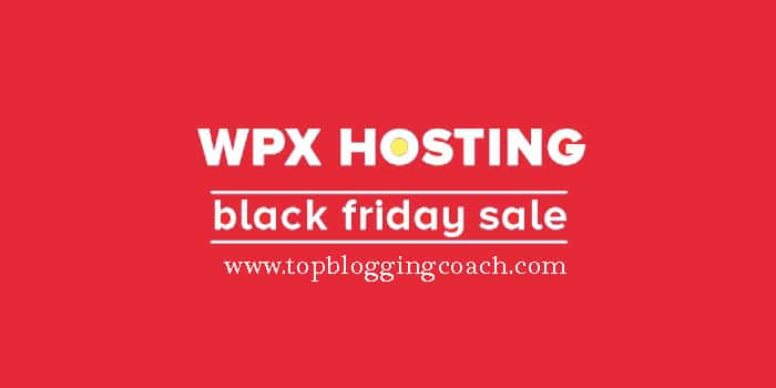 WPX Hosting Black Friday Deals 2019: Get 95% Discount