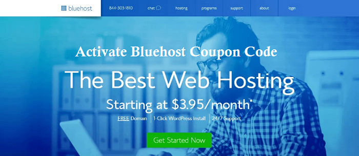 bluehost-coupon code and discount
