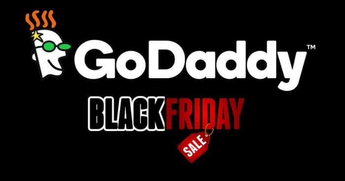 2018 black friday sale on godaddy