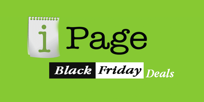 black friday deals ipage